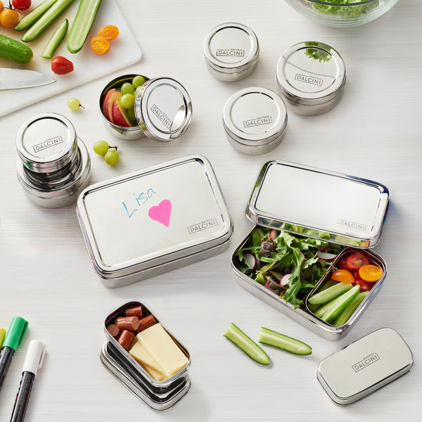 DALCINI™ Stainless Kids Lunch Container 10-piece Starter Pack
