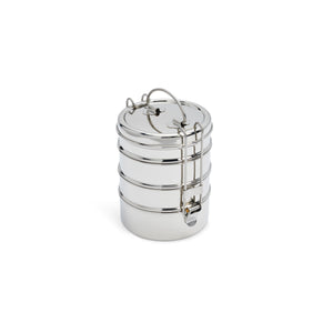 4 Layer Tiffin Carrier - DALCINI Stainless