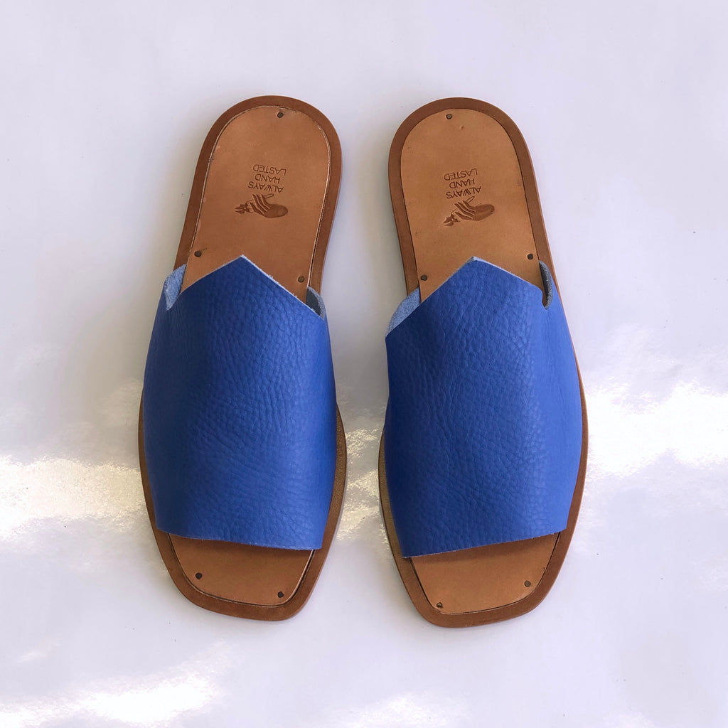 READY MADE: SIZE 37. The Amanda. 2 MOUNTAINS: Maine Cobalt.