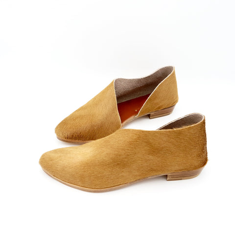 READY MADE: SIZE 38. The Sandy. Wheat Hair On.
