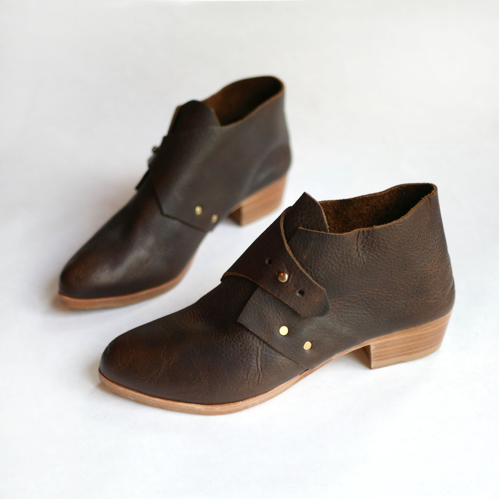 READY MADE: SIZE 37. The Mussenden. Raider Dark Brown. 3cm.