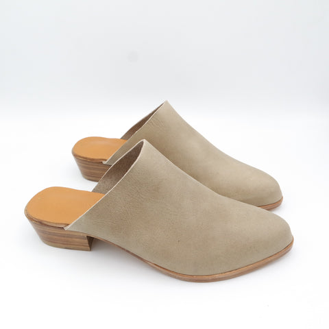 READY MADE: SIZE 39. The Liz. Oregon Taupe. 3cm
