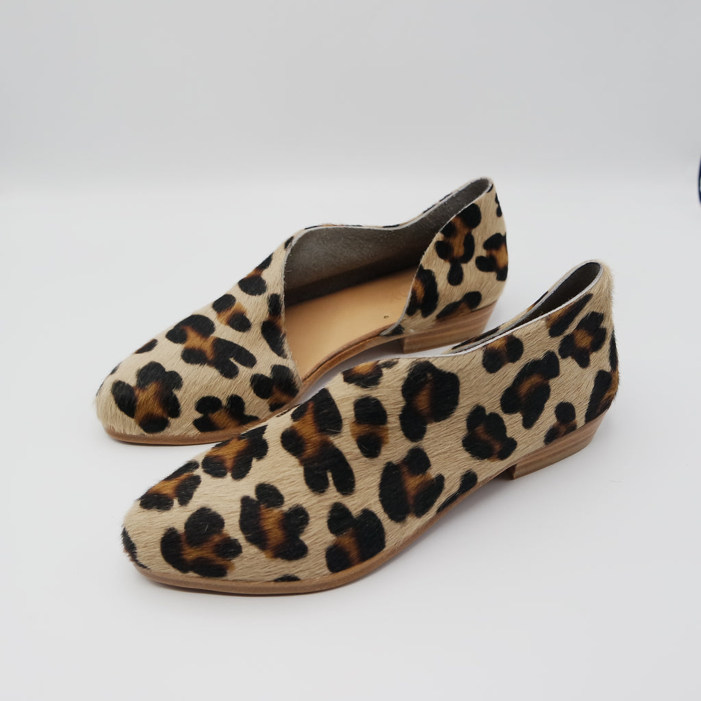 READY MADE: SIZE 38. The Sandy. Leopard Hair On