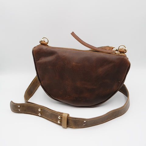 The Tangi Bag. Raider Mokka/ Raider Dark Brown. #09