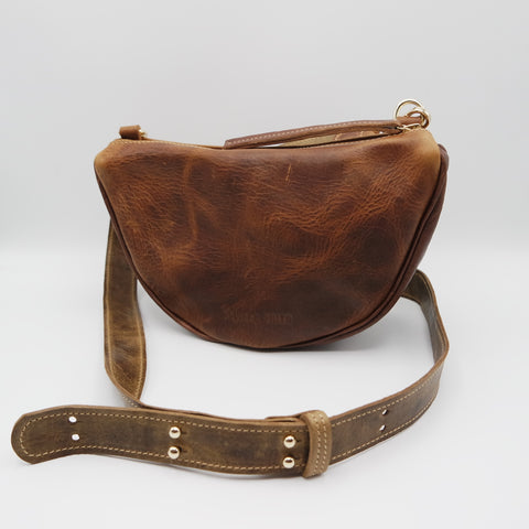 The Tangi Bag. Raider Mokka/ Koniec Brown. #12