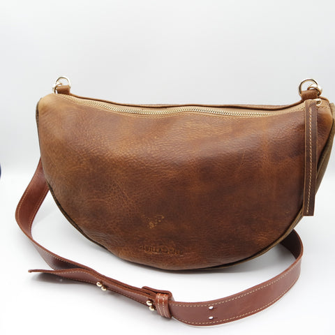 The Tangela Bag. Raider Mokka/ Waxy Antique Brown #15