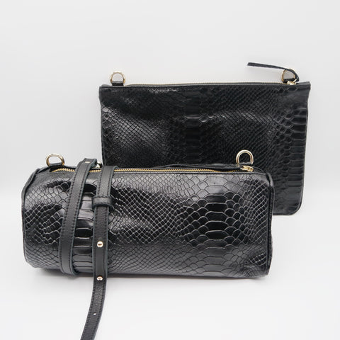 STOCK SALE: The Marissa Double Bag. Anaconda