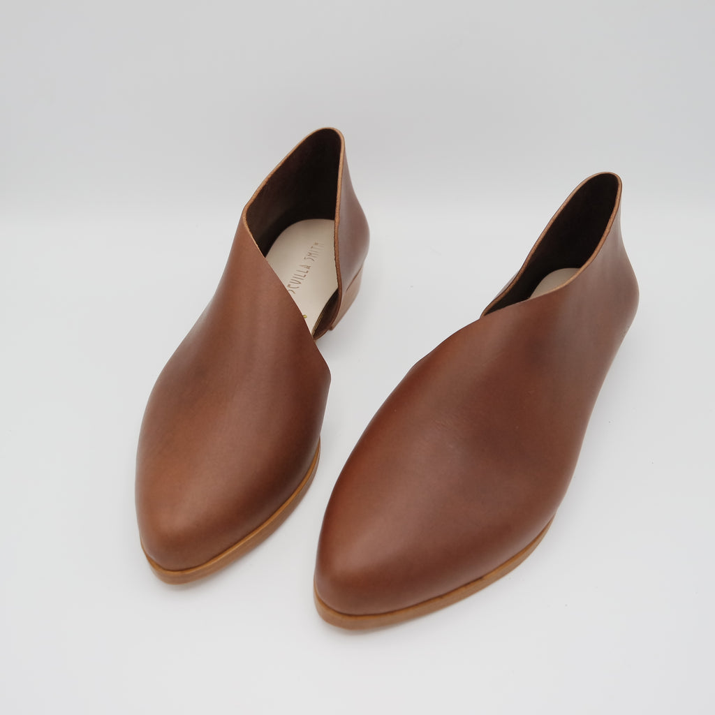 READY MADE: SIZE 38. The Sandy. Opaco Papaya.