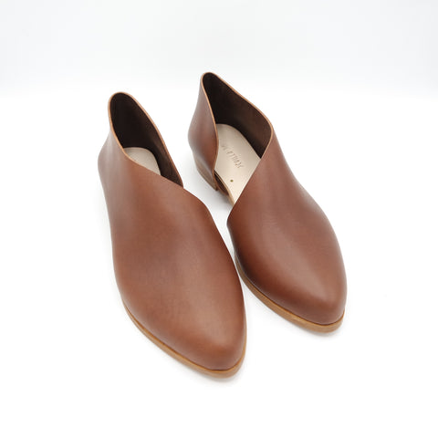 READY MADE: SIZE 37. The Sandy. Opaco Papaya.