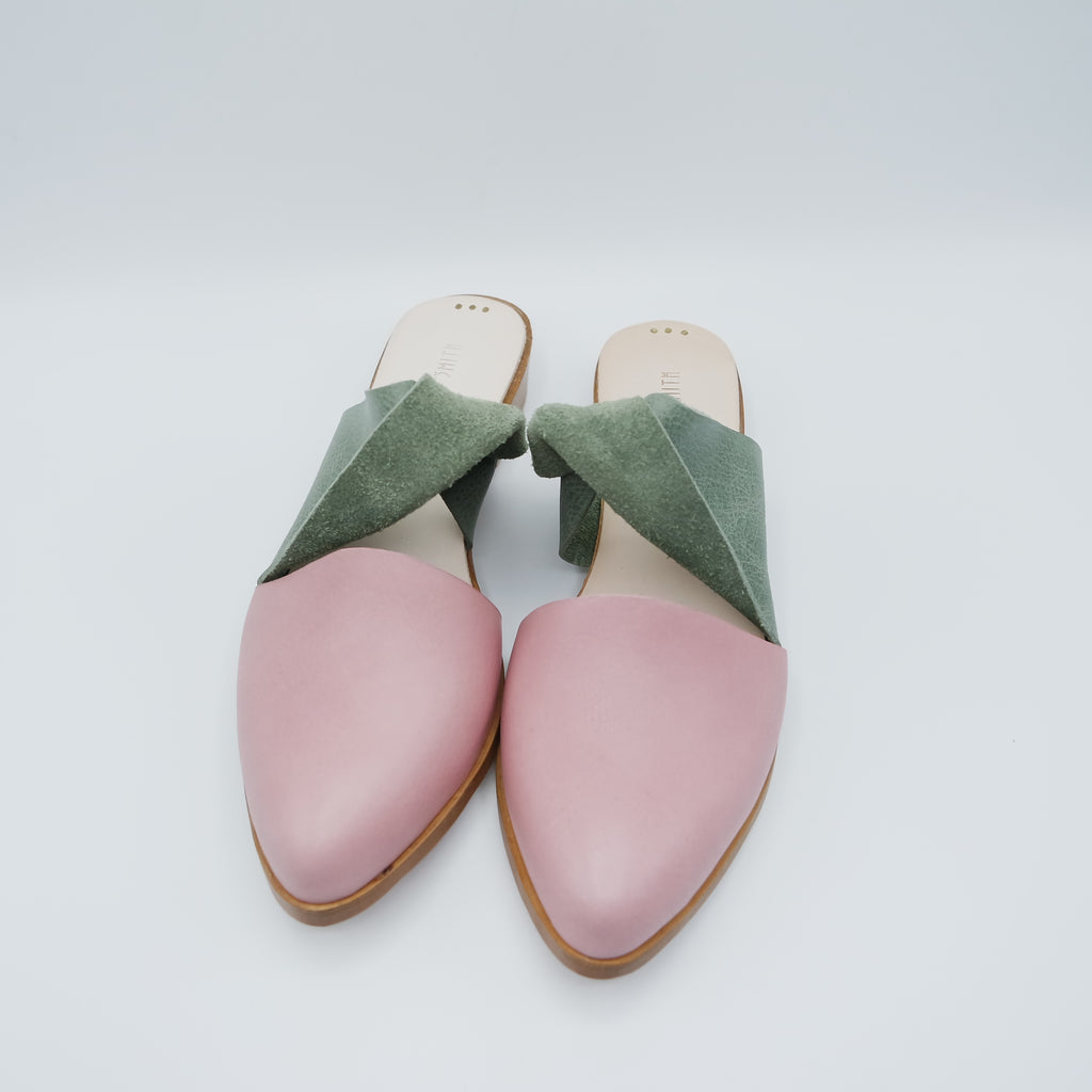 The Mariyah. Maine Cipria and Sage. 2cm (Limited Edition)