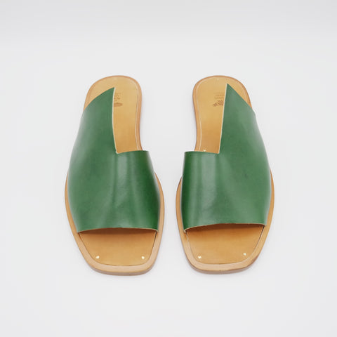 READY MADE: SIZE 39. The Lydia. Emerald.