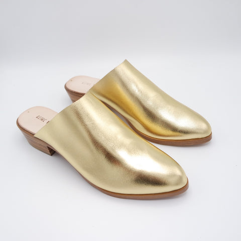 READY MADE: SIZE 38. The Liz. Classic Gold. 3cm.