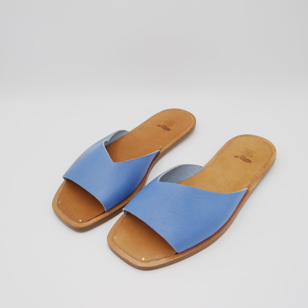 READY MADE: SIZE 38. The Krysia. Maine Cobalt