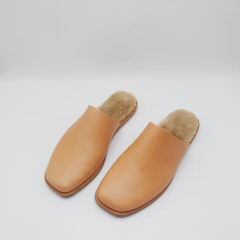The Nick. Troncato Undyed with Shearling