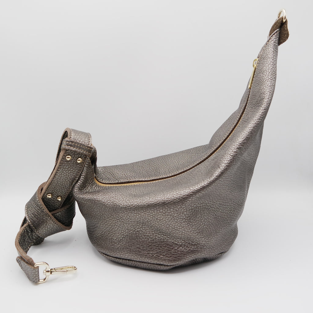 107 The Marisol Bag. Gunmetal