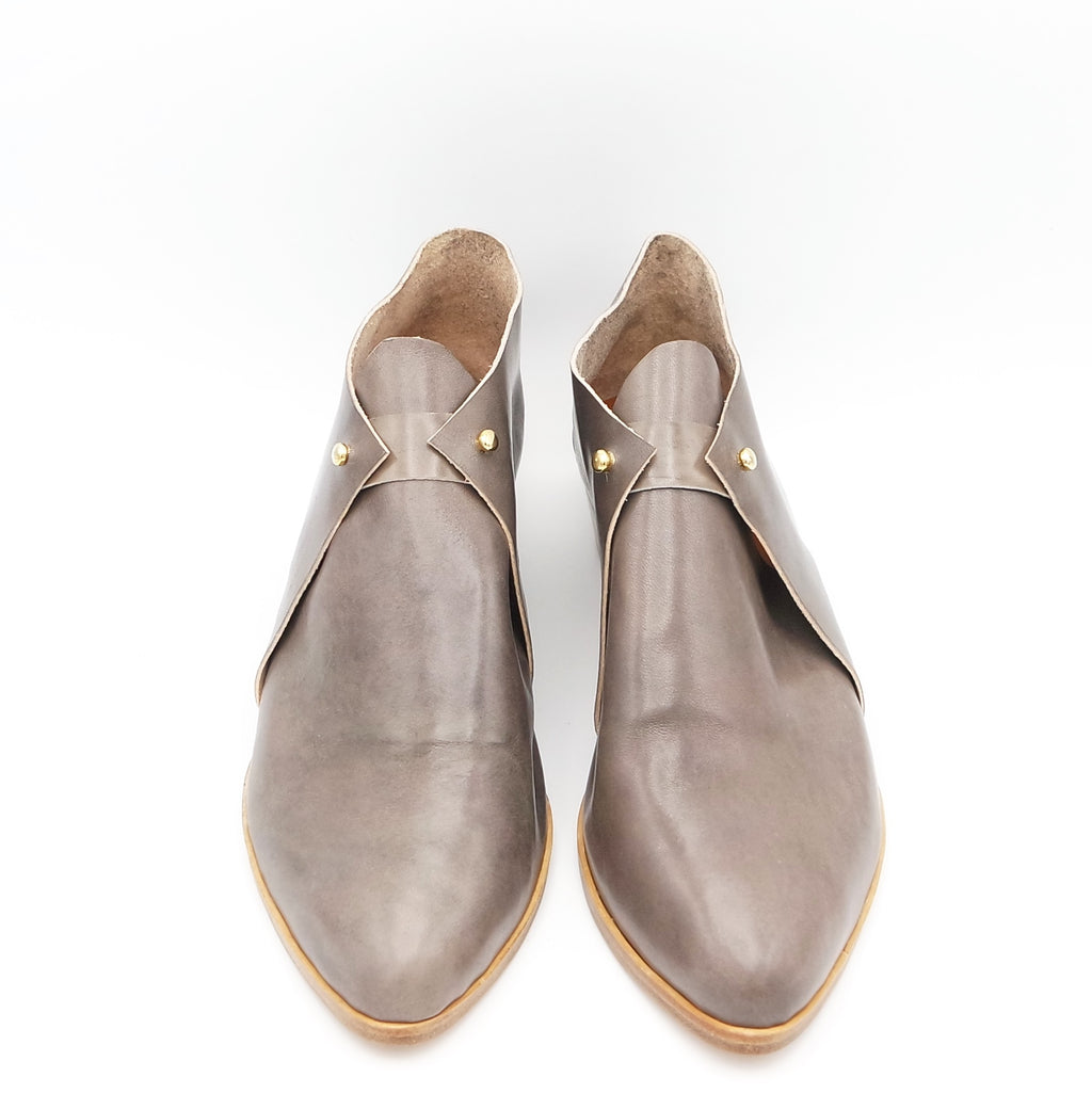 READY MADE: SIZE 39. The Meghan. Tamponato grey. 3cm.