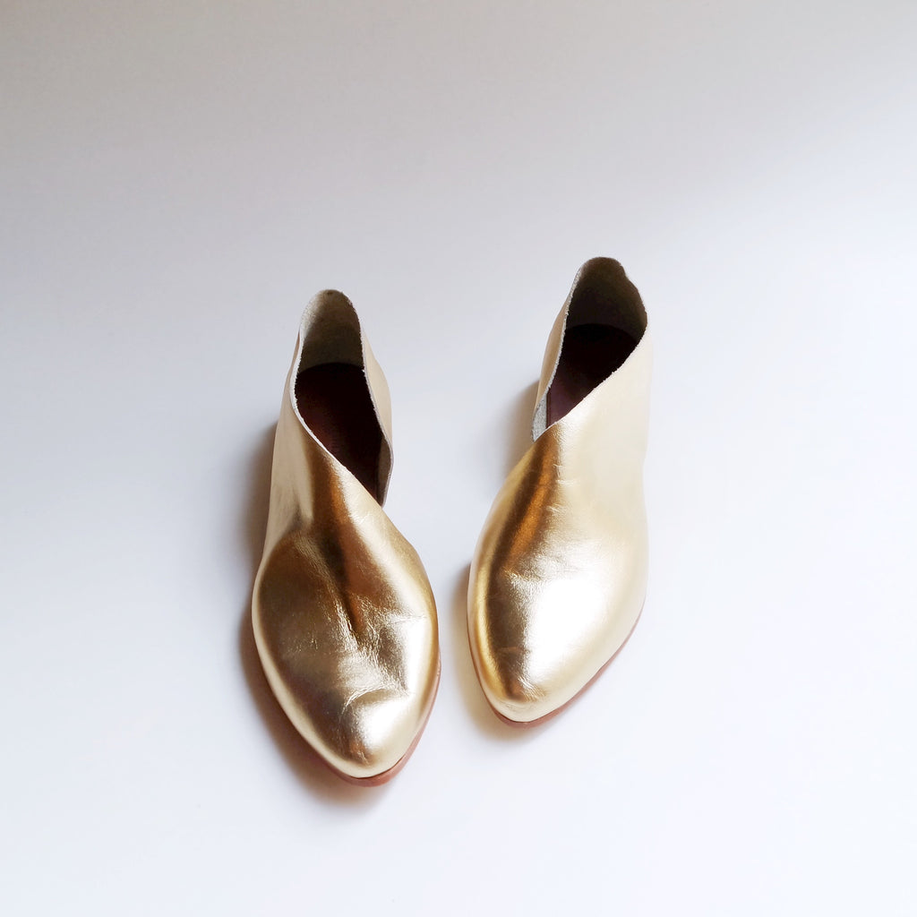 READY MADE: SIZE 40. The Sandy. Classic Gold