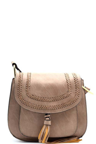Saddle Up Stone Crossover Bag