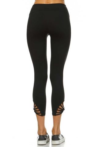A Web Of Love Athletic Crop Pants