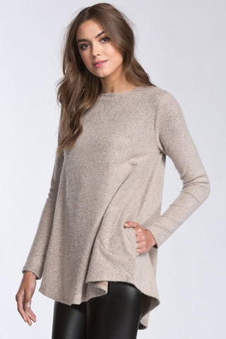 Sweater Love Hi-Lo Top
