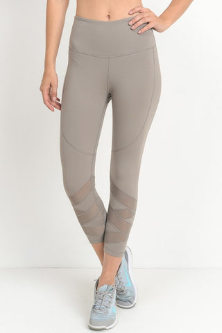 Mocha In My Dreams Cropped Leggings