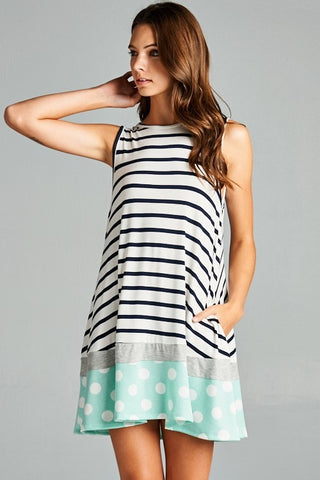 Sweetest Thing Striped Shift Dress