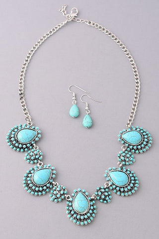 The TC Necklace and Earring Set