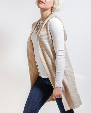 Wrapped In Warmth Oatmeal Vest