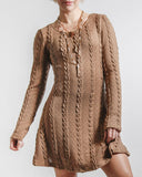 Cable Knit Crazy Dress