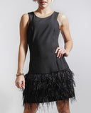 Feather The Storm Dress