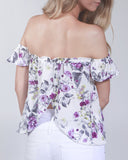 Summer Romance Off The Shoulder Top