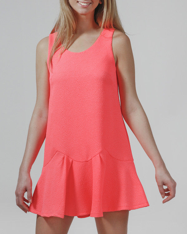 Call To Coral Dress