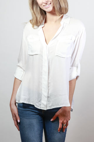 Maldives Dream White Blouse