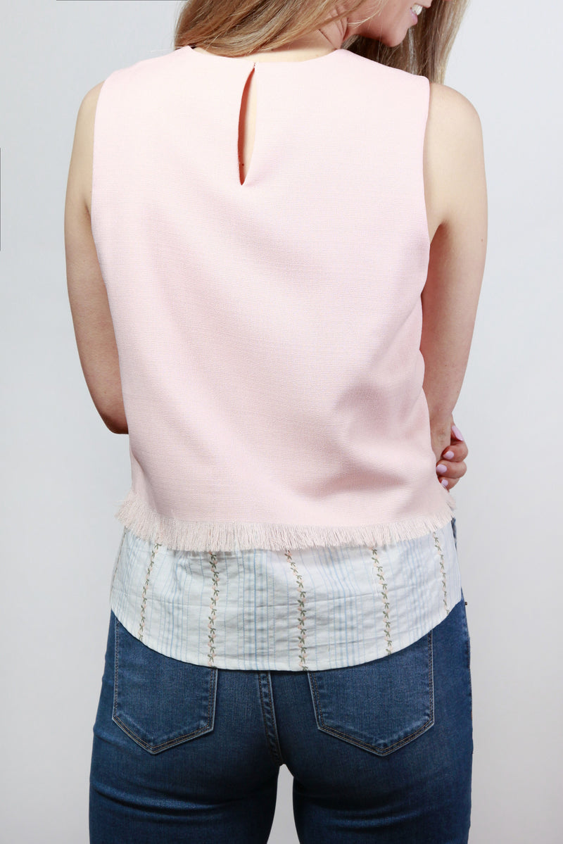 Like A Georgia Peach Layered Top