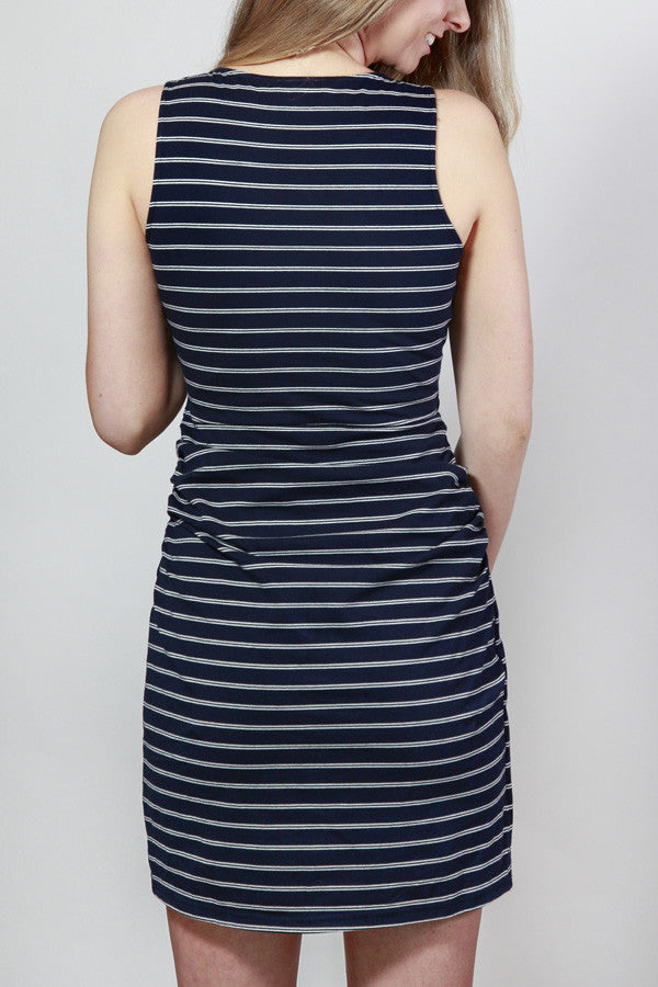 Turning The Tide Striped Tank Dress