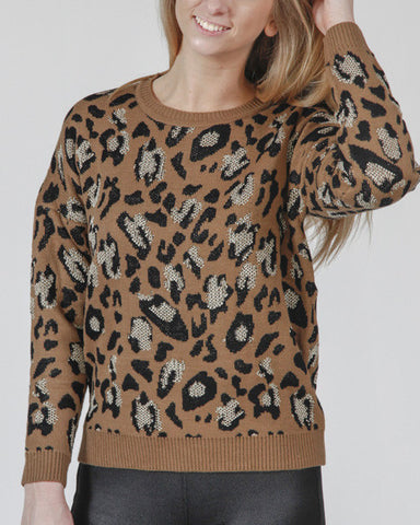 Prrr-fect Combination Sweater
