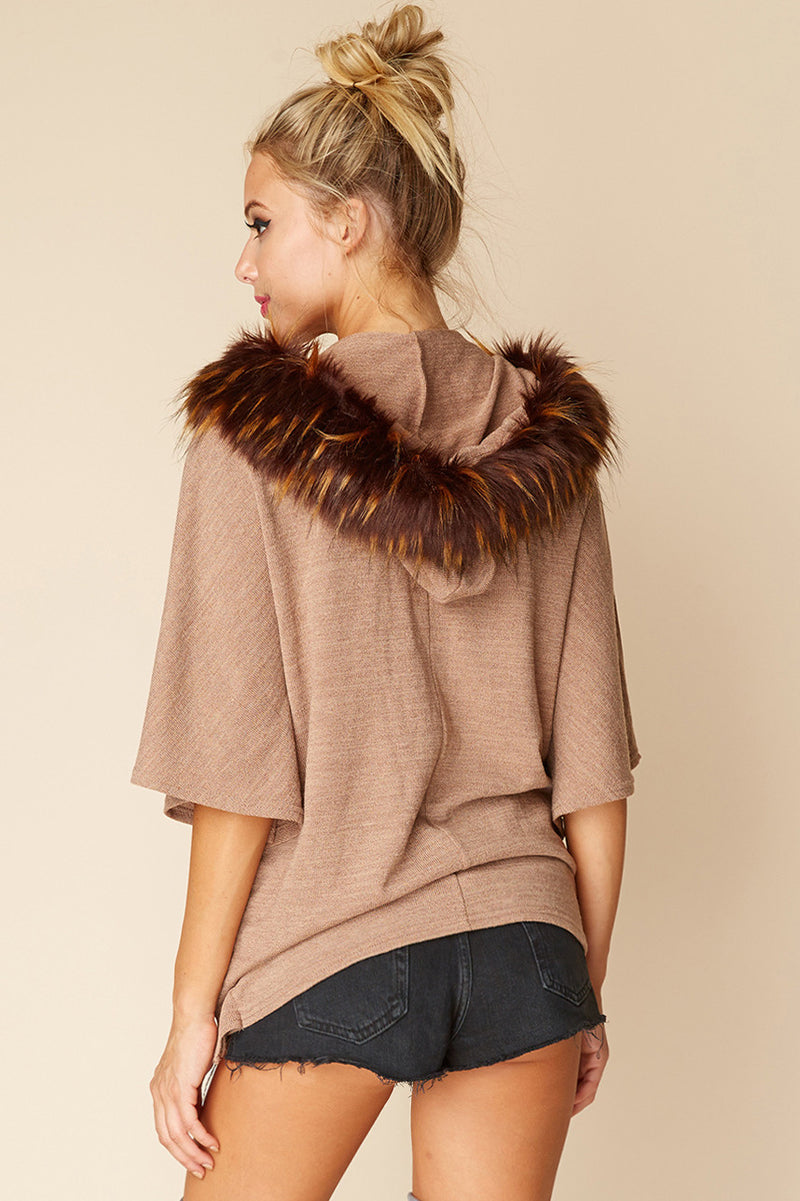 Mocha Choca Latta Pullover Sweater