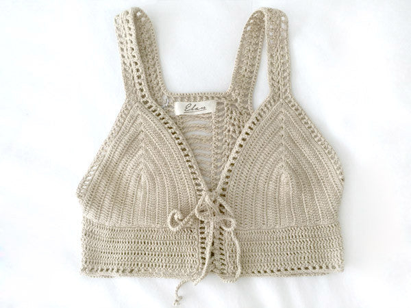 For The Love Of Crochet Crop Top
