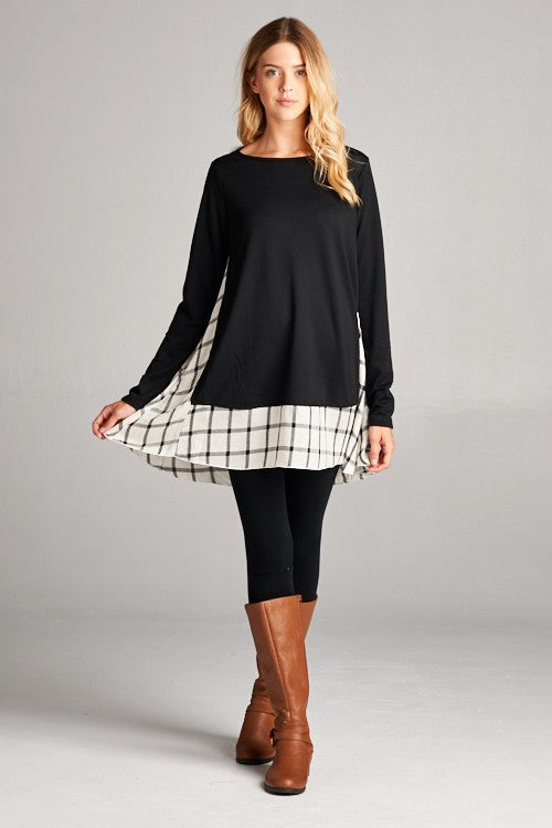 Caviar Inspiration Long Sleeve Tunic
