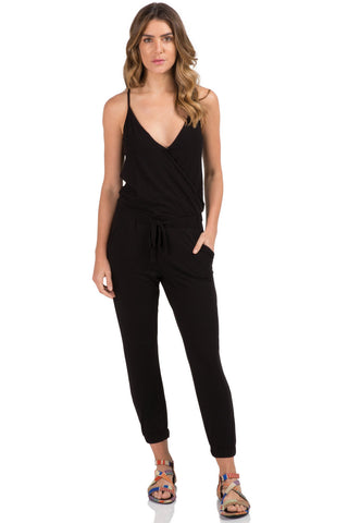 The Forever Jumpsuit- Black
