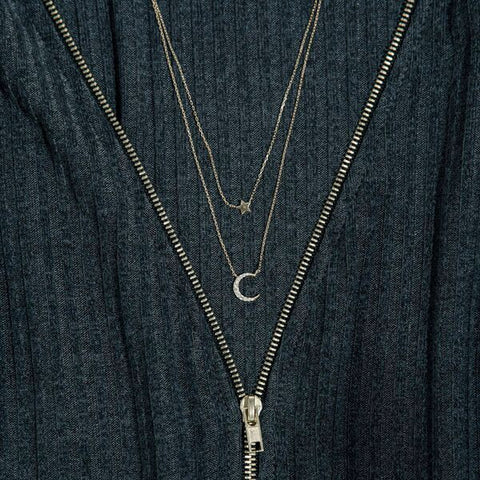 You Are My Stars & My Moon Necklace