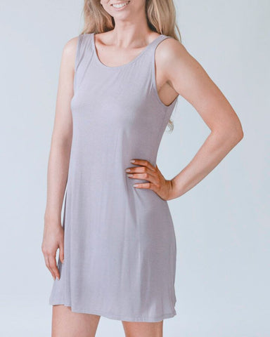 Dusty Rose MicroModal Fabric Dress