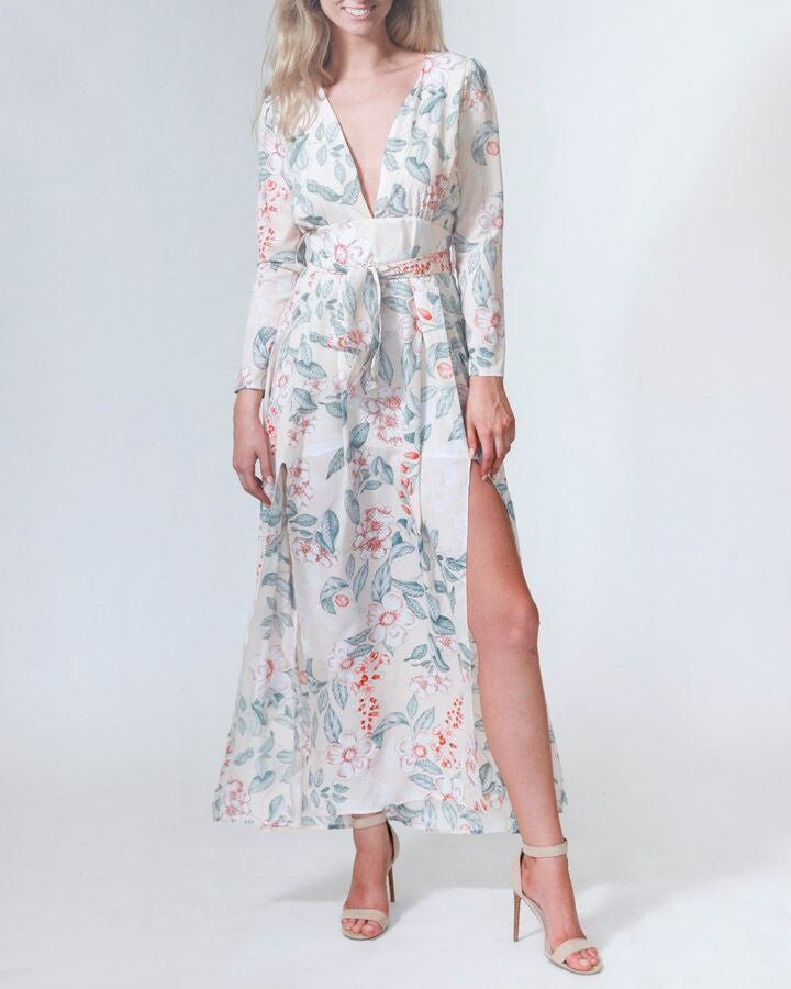 Believe In Blossoms Maxi Dress