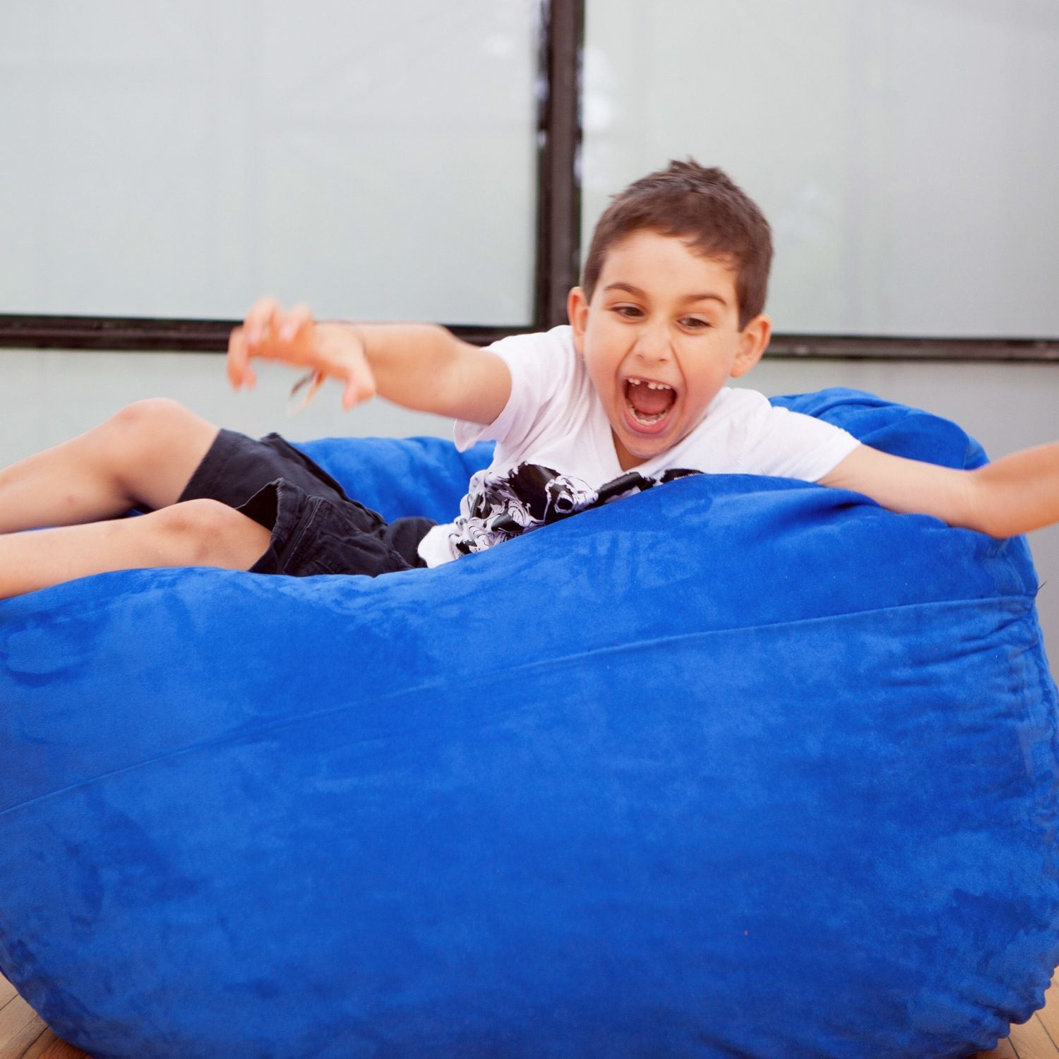 Best Kids Bean Bag Around - The 4 Foot Jaxx Cocoon Bean Bag
