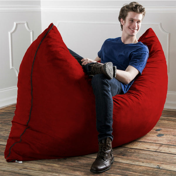 Fun Lounging in a Jaxx Pillow Sak