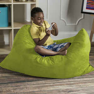 Kids and Bean Bag Chairs, They Just Go Together