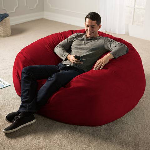 Jaxx Classic Saxx 5 Foot Jaxx Sac Comfy Bean Bag Chairs