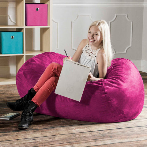 4 Foot Jaxx Lounger Bean Bag
