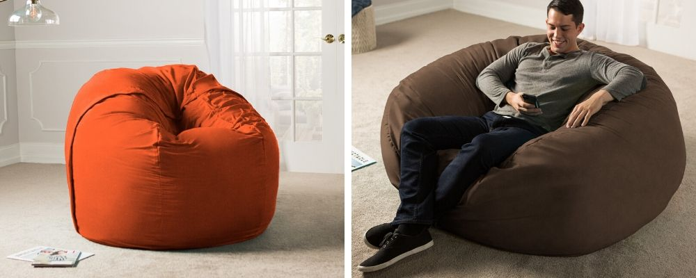 5 Foot Jaxx Sac Bean Bag Chair