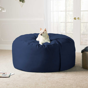 Navy Microsuede 5 Foot Jaxx Sac